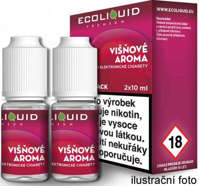 Liquid Ecoliquid Premium 2Pack Cherry 2x10ml - 0mg (Višeň)