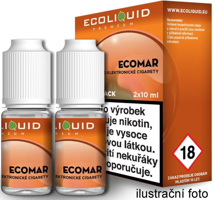 Liquid Ecoliquid Premium 2Pack ECOMAR 2x10ml - 6mg