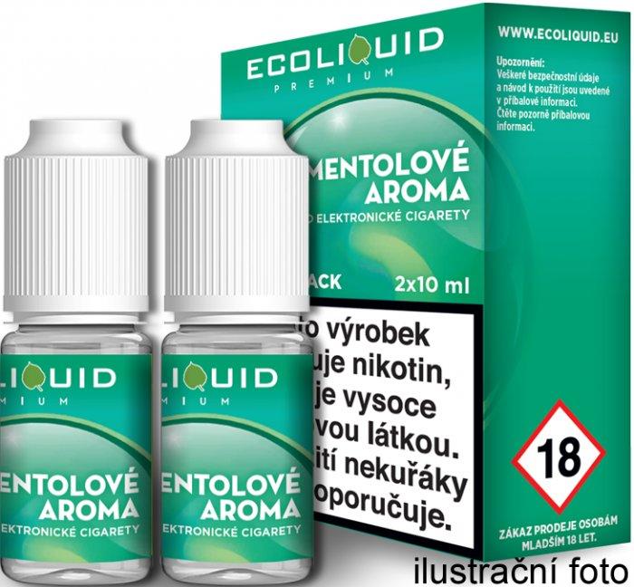 Liquid Ecoliquid Premium 2Pack Menthol 2x10ml - 18mg