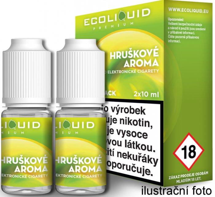Liquid Ecoliquid Premium 2Pack Pear 2x10ml - 0mg (Hruška)