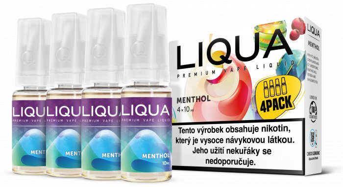 Liquid LIQUA CZ Elements 4Pack Menthol 4x10ml-6mg (Mentol)
