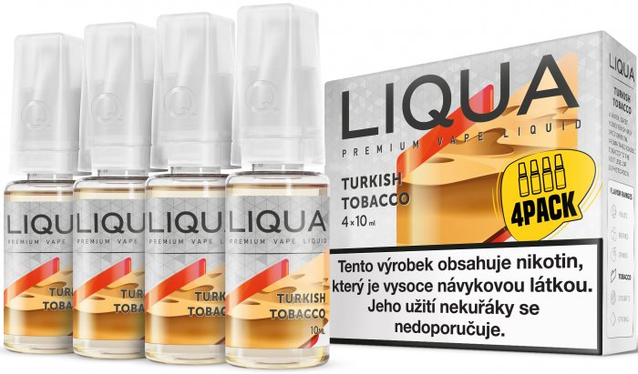 Liquid LIQUA CZ Elements 4Pack Turkish tobacco 4x10ml-6mg (Turecký tabák)