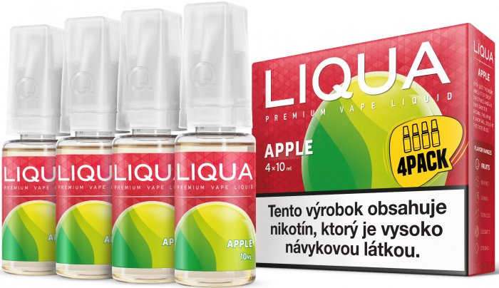 Liquid LIQUA SK Elements 4Pack Apple 4x10ml-6mg (jablko)