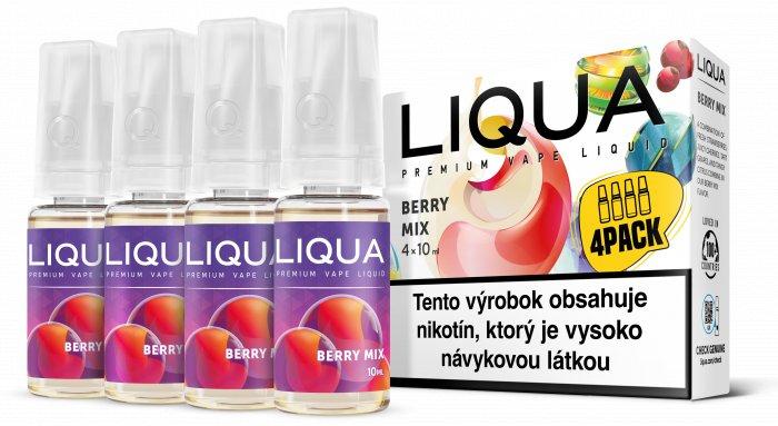 Liquid LIQUA SK Elements 4Pack Berry Mix 4x10ml-3mg (lesní plody)