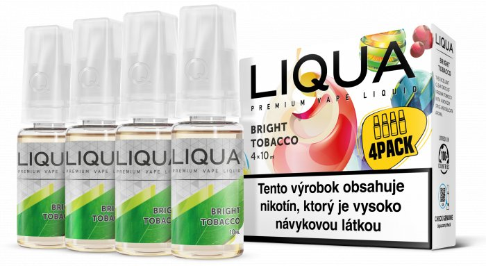 Liquid LIQUA SK Elements 4Pack Bright tobacco 4x10ml-12mg (čistá tabáková příchuť)