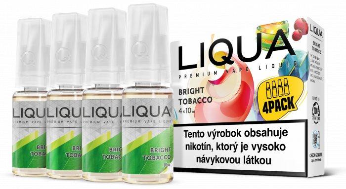 Liquid LIQUA SK Elements 4Pack Bright tobacco 4x10ml-6mg (čistá tabáková příchuť)