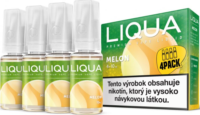 Liquid LIQUA SK Elements 4Pack Melon 4x10ml-6mg (Žlutý meloun)