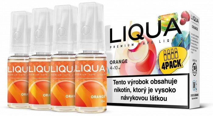 Liquid LIQUA SK Elements 4Pack Orange 4x10ml-3mg (Pomeranč)