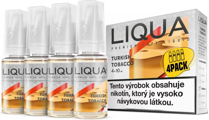 Liquid LIQUA SK Elements 4Pack Turkish tobacco 4x10ml-6mg (Turecký tabák)