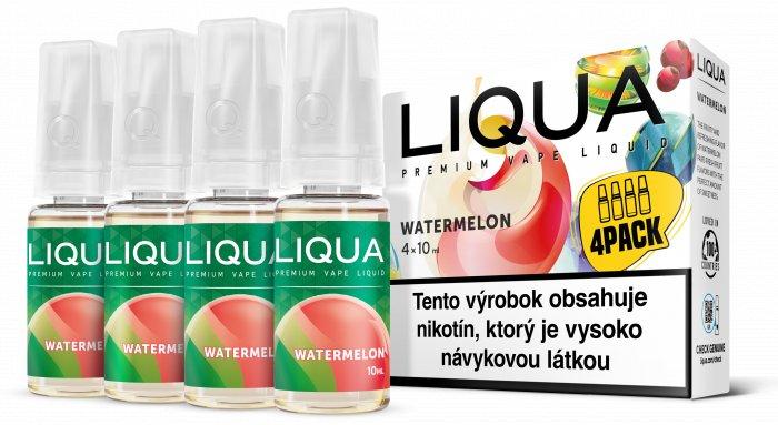 Liquid LIQUA SK Elements 4Pack Watermelon 4x10ml-3mg (Vodní meloun)