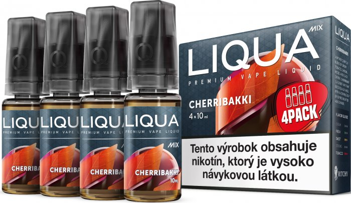 Liquid LIQUA SK MIX 4Pack Cherribakki 10ml-6mg