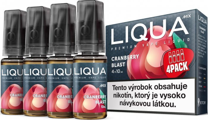 Liquid LIQUA SK MIX 4Pack Cranberry Blast 10ml-6mg