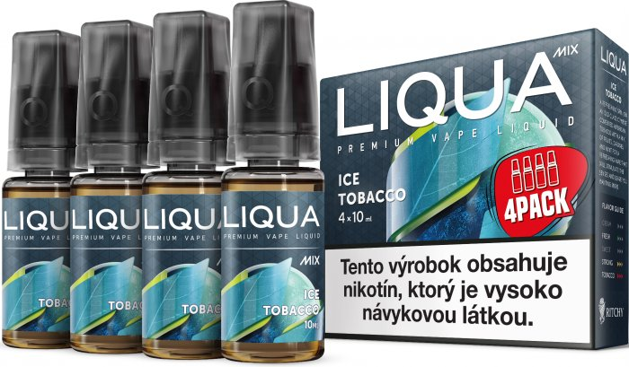 Liquid LIQUA SK MIX 4Pack Ice Tobacco 10ml-3mg
