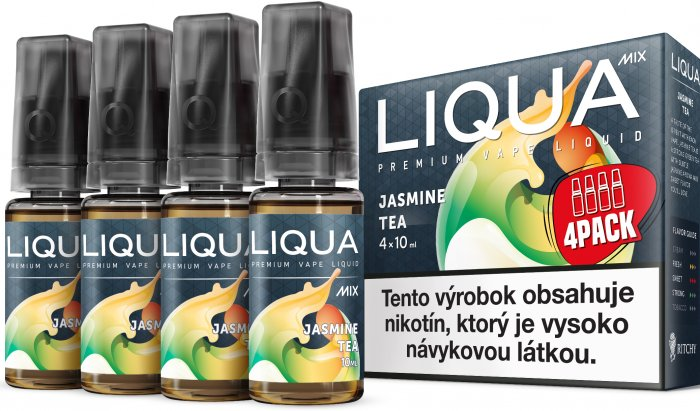 Liquid LIQUA SK MIX 4Pack Jasmine Tea 10ml-6mg