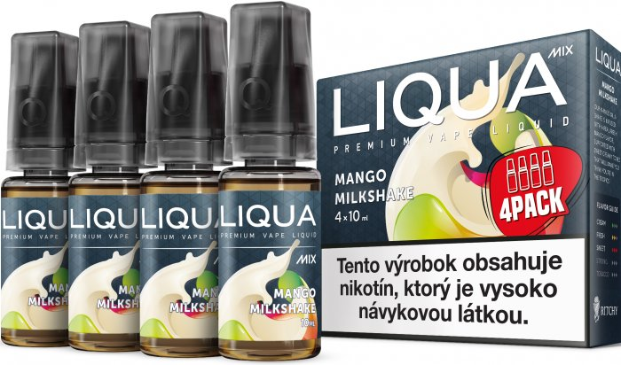 Liquid LIQUA SK MIX 4Pack Mango Milkshake 10ml-6mg