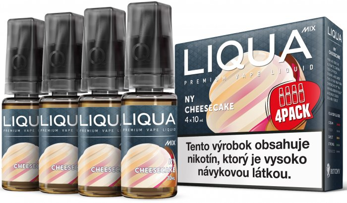 Liquid LIQUA SK MIX 4Pack NY Cheesecake 10ml-3mg