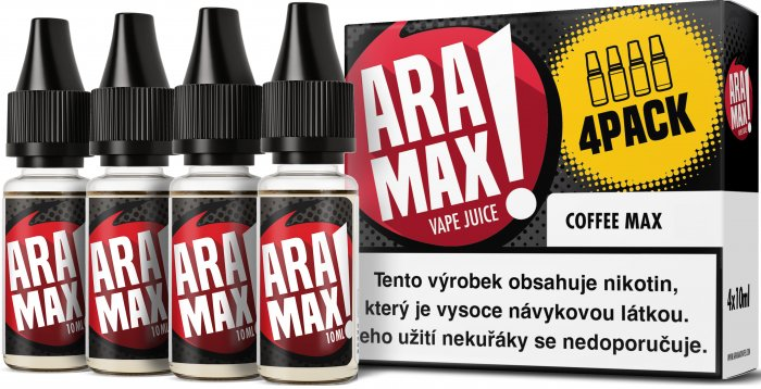 Liquid ARAMAX 4Pack Coffee Max 4x10ml-12mg