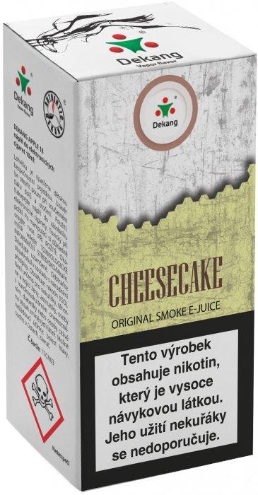 Liquid Dekang Cheesecake 10ml - 11mg (Tvarohový koláč)