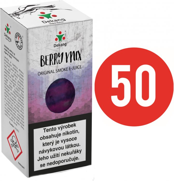 Liquid Dekang Fifty Berry Mix 10ml - 16mg (Lesní Plody)