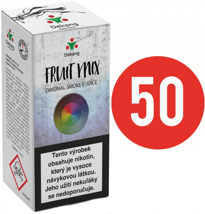 Liquid Dekang Fifty Fruit Mix 10ml - 18mg (Ovocný mix)