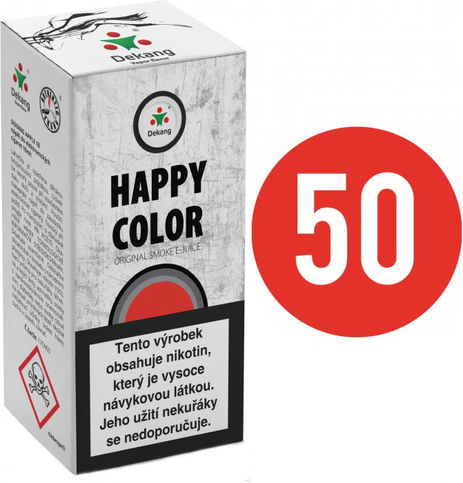 Liquid Dekang Fifty Happy Color 10ml - 18mg