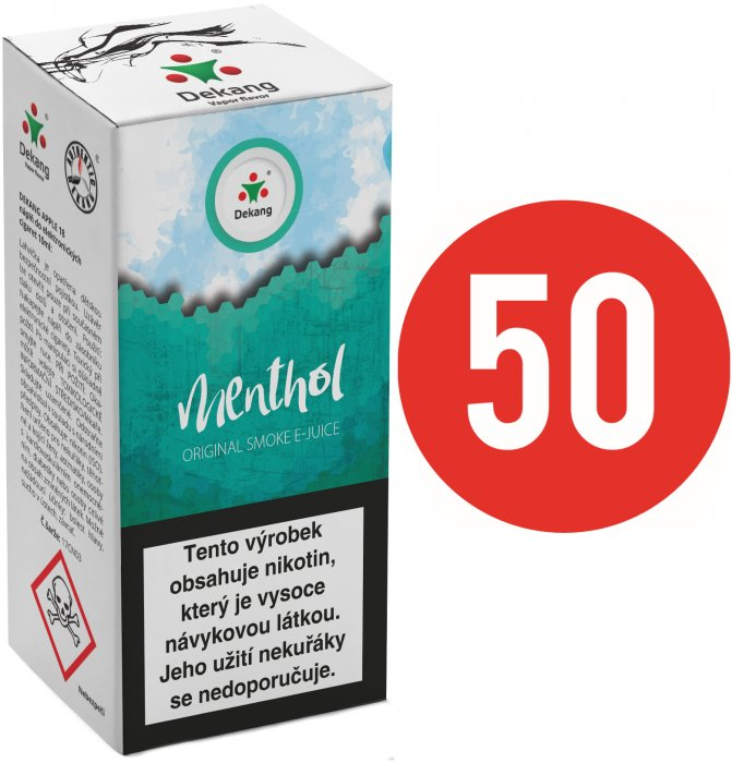 Liquid Dekang Fifty Menthol 10ml - 18mg
