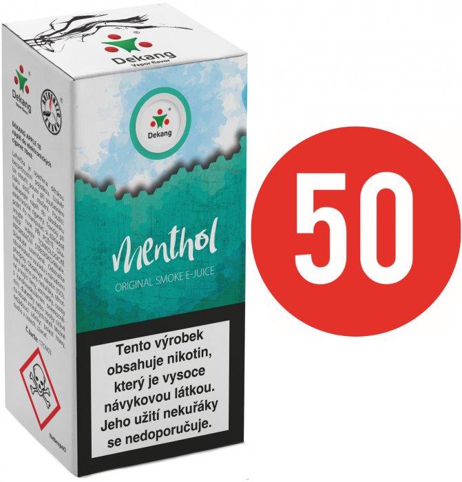 Liquid Dekang Fifty Menthol 10ml - 6mg