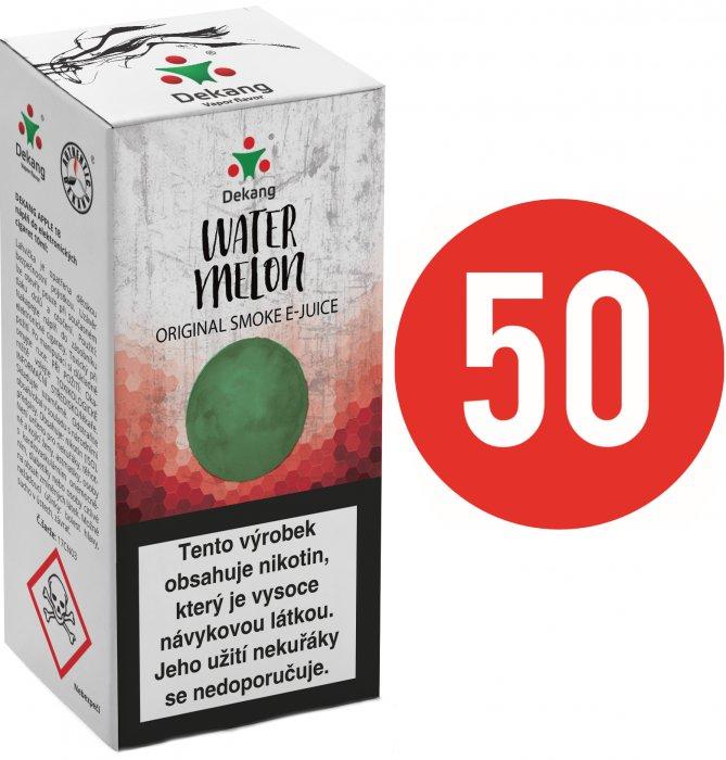 Liquid Dekang Fifty Watermelon 10ml - 6mg (Vodní meloun)