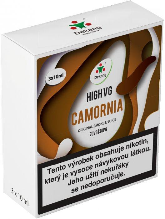 Liquid Dekang High VG 3Pack Camornia 3x10ml - 3mg