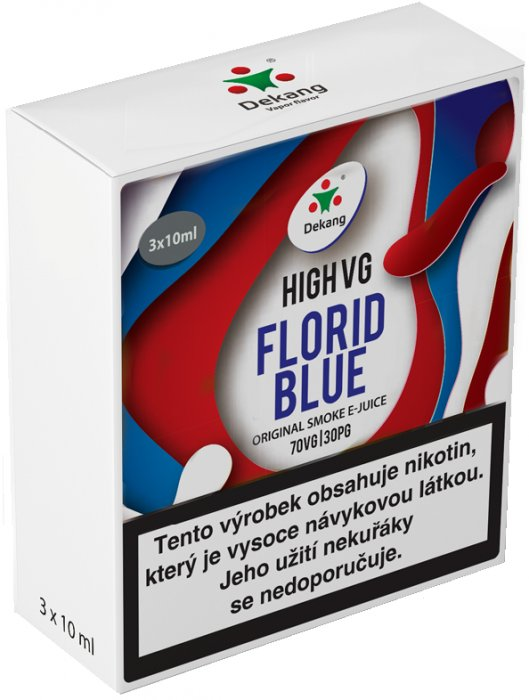 Liquid Dekang High VG 3Pack Florid Blue 3x10ml - 1,5mg