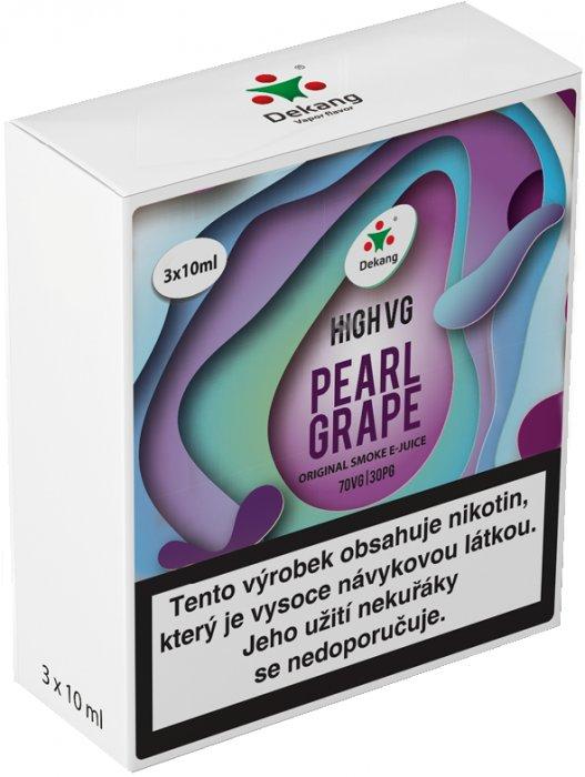 Liquid Dekang High VG 3Pack Pearl Grape 3x10ml - 3mg