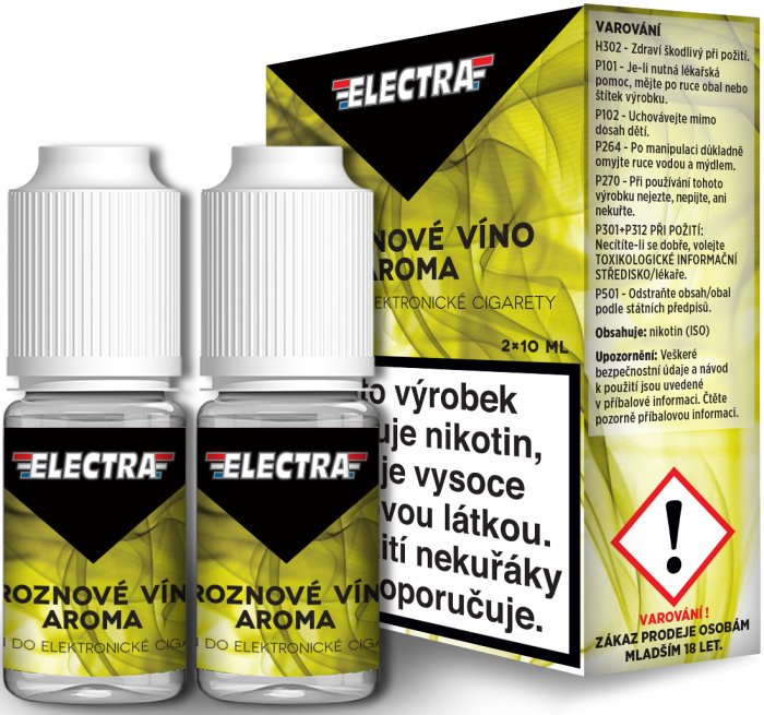 Liquid ELECTRA 2Pack Grape 2x10ml - 20mg (Hroznové víno)