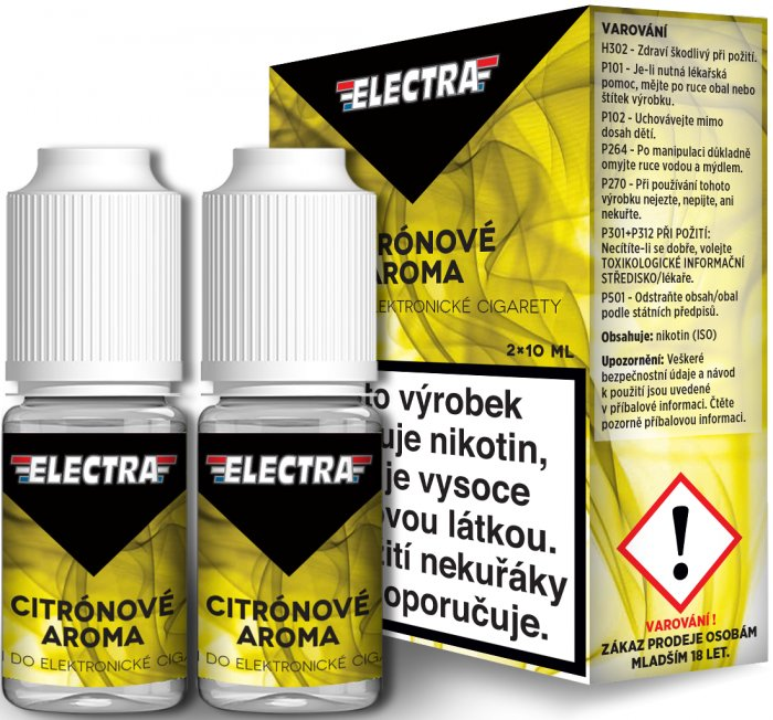 Liquid ELECTRA 2Pack Lemon 2x10ml - 0mg (Citrón)