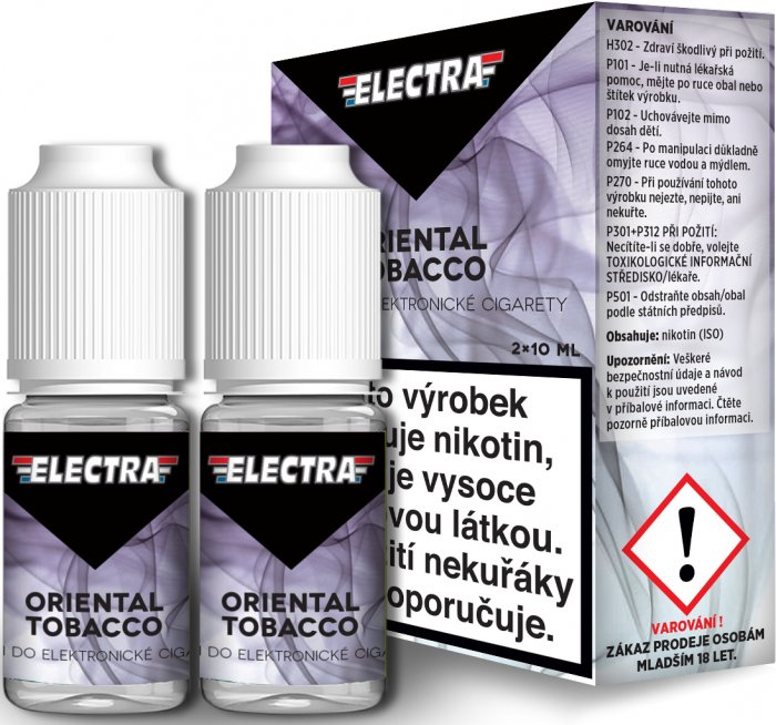 Liquid ELECTRA 2Pack Oriental Tobacco 2x10ml - 20mg