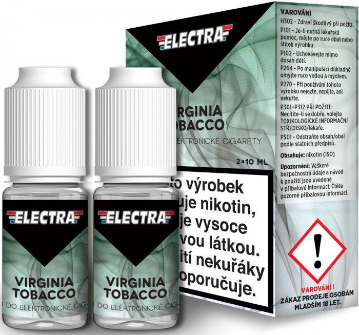 Liquid ELECTRA 2Pack Virginia Tobacco 2x10ml - 12mg
