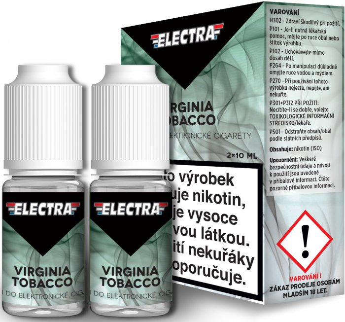 Liquid ELECTRA 2Pack Virginia Tobacco 2x10ml - 20mg