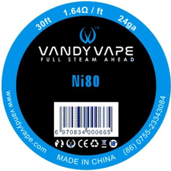 Vandy Vape Ni80 odporový drát 24GA 10m