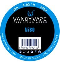 Vandy Vape Ni80 odporový drát 28GA 10m