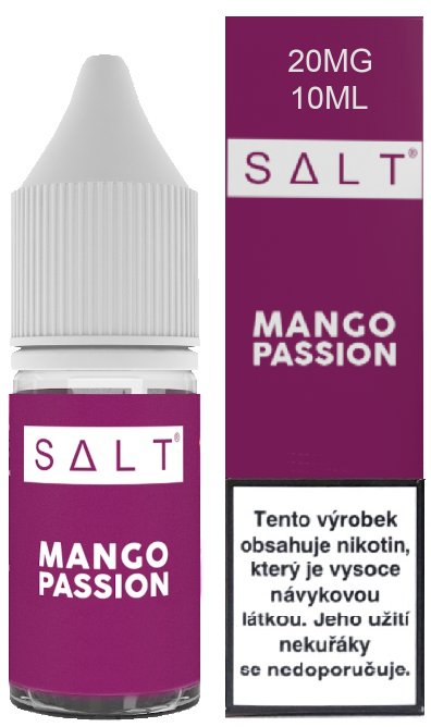 Liquid Juice Sauz SALT CZ Mango Passion 10ml - 20mg