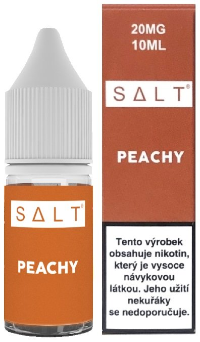 Liquid Juice Sauz SALT CZ Peachy 10ml - 20mg
