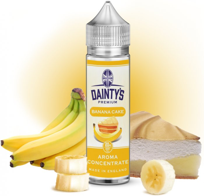 Příchuť Dainty´s Premium Banana Cake 20ml