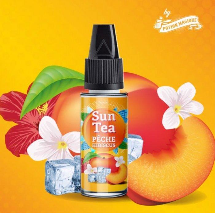 Příchuť Sun Tea 10ml Peche Hibiscus
