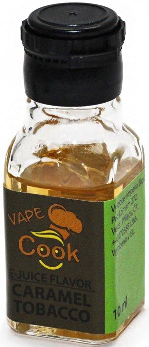 Příchuť IMPERIA Vape Cook 10ml Caramel Tobacco (Tabák s karamelem)