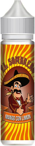 Příchuť KTS El Sombrero Shake and Vape 10ml Mango Con Limón