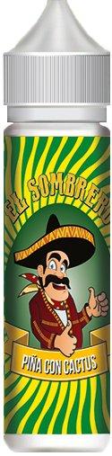 Příchuť KTS El Sombrero Shake and Vape 10ml Piňa Con Cactus