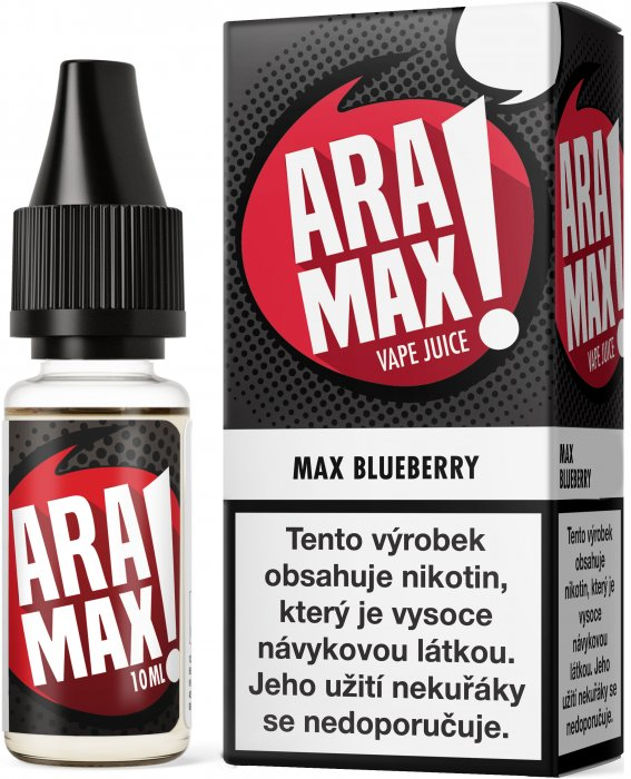 Liquid ARAMAX Max Blueberry 10ml-12mg