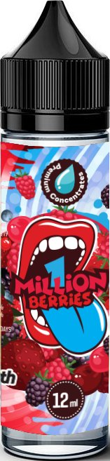 Příchuť Big Mouth Shake and Vape 12ml Classical 1 Million Berries