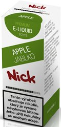 Liquid Nick Apple Low 10ml-6mg (Jablko)