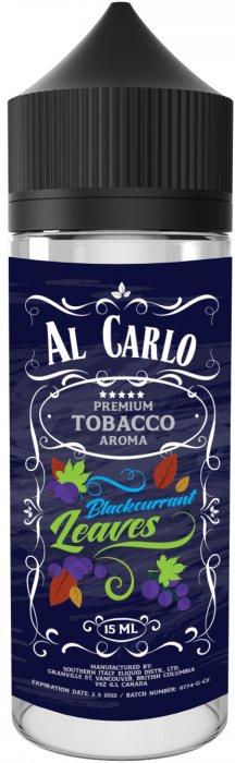 Příchuť Al Carlo Shake and Vape 15ml Blackcurrant Leaves