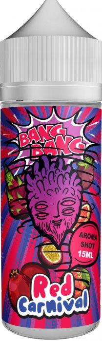 Příchuť BANG BANG Shake and Vape 15ml Red Carnival